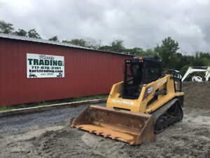2007 Asv Rc100 Posi track Compact Track Skid Steer Loader W Cab 2spd High Flow