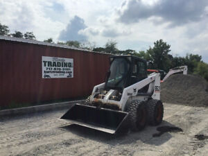 2002 Bobcat 863g Skid Steer Loader W Cab High Flow Only 1500 Hours