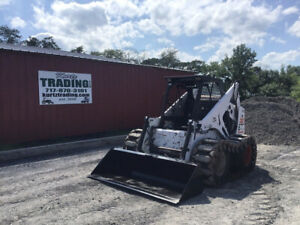 1998 Bobcat 873f Skid Steer Loader W Over Tire Tracks Only 3400 Hours