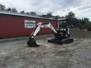 2013 Bobcat E26 Hydraulic Mini Excavator W Kubota Diesel Engine Only 2300 Hours
