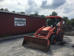 2006 Kubota L39 4x4 Tractor Loader Backhoe Only 3000 Hours Cheap