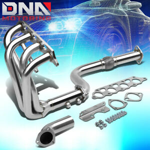 Stainless Steel Long Tube Header flex Pipe For 00 04 Ford Focus Exhaust manifold
