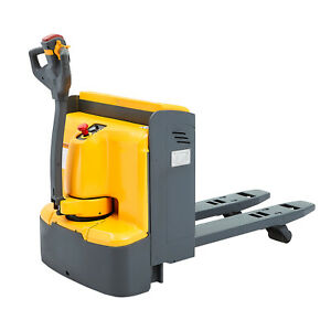 Sovan s Low Profile Chassis Electric Pallet Jack Truck 4400lbs Capacity 48 X27