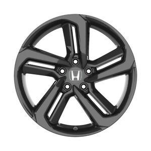 4 652 18 Inch Gloss Black Rims Fits Honda Civic Coupe 2012 2020