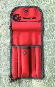 Snap On Flip Reversible Screwdriver Pouch Case Kit Bag Ssdd C 5