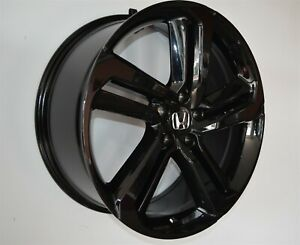 4 652 20 Inch Gloss Black Rims Fits 20x8 5 Honda Civic Sedan 2012 2020
