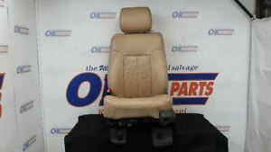 13 Ford F250 Super Duty Front Left Driver Power Seat Tan Leather