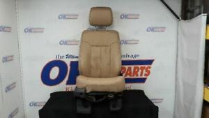 13 Ford F250 Super Duty Front Right Passenger Power Seat Tan Leather