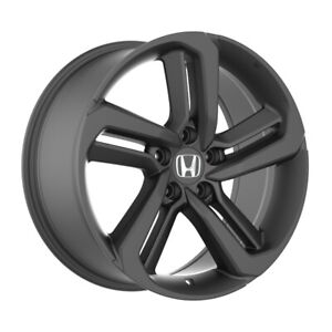 4 652 20 Inch Matte Black Rims Fits 20x8 5 Honda Civic Sedan 2012 2020