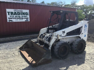 1997 Bobcat 763 Skid Steer Loader One Owner Kubota Diesel Only 2600hrs