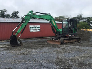 2014 Bobcat E85 Hydraulic Midi Excavator W Cab Thumb Clean Job Ready