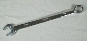 Snap on Usa 1 3 16 12 Point Sae Flank Drive Combination Wrench oex38b