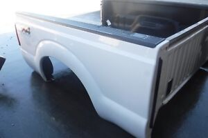 2011 2016 Ford F250 F350 8 Truck Bed Box 8 Foot Long White paint Code Z1