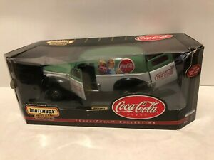 Coca-Cola 1940 Ford Sedan Delivery Van NEW; 1:18 Scale Die Cast  by MatchBox