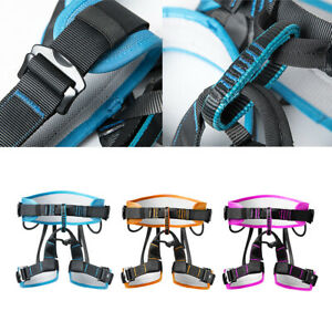 Climbing Harness Protect Waist Belt Safety Half Body Harness For Mountaineering