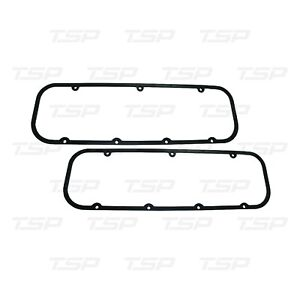Big Block Chevy Valve Cover Gaskets Steel W Rubber 3 16 Thick