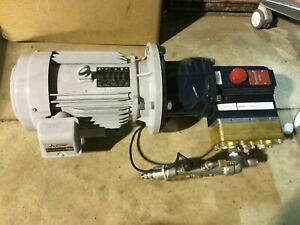 Hydracell Pump Go3c1001023 W Mitsubishi 3 Phase Induction Motor Sf prf