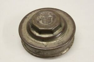 Original 1920 S Cadillac Wheel Brass Center Cap Hupcap Grease Dust Cover Oem Gm