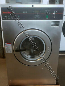Speed Queen Scn030gy2 Washer extractor 30lb 220v 3ph Coin Reconditioned