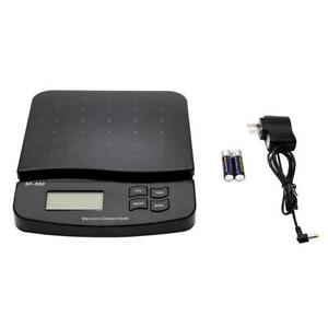 66lb Precision Tabletop Postal Scale Digital Lcd Shipping Mail Packages Weigh