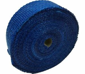 Blue Exhaust Heat Wrap 2 00 X 50ft Roll For Any Exhaust Wesdon Wrap