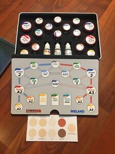 Dental Porcelain Wieland Test Kit A2 A3 Shade Including Paste Opaque Complete