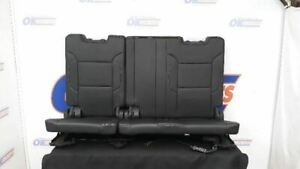 16 Chevy Suburban Oem Power Third Row Rear Seat Black Leather