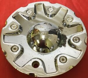One Used American Racing Chrome Center Cap 1628200041 Wheel Center Cap 7631