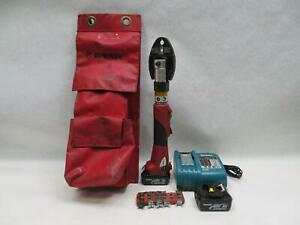 Burndy Patmd li Patriot Lithium Ion Powered Crimp Tool