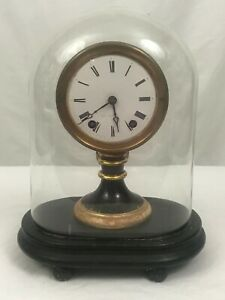 American Candlestick Clock With Dome Seth Thomas Sons Late 19th Century