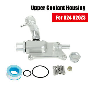 Upper Coolant Housing Straight Inlet With Filler Neck For Honda K24 K20z3 16an