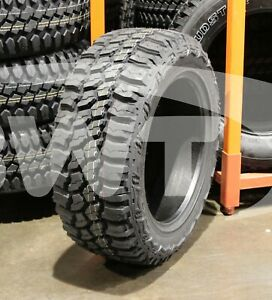 4 New 33x12 50 20 Thunderer Trac Grip M t Mud 12 50r R20 Tires