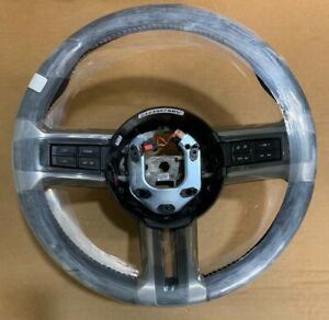 Nos 2010 2012 Ford Mustang Leather Steering Wheel Ar3z3600aa