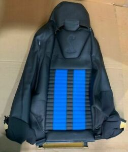 Nos 2012 2013 Ford Mustang Recaro Front Right Seat Back Cover Cr3z6364416cd