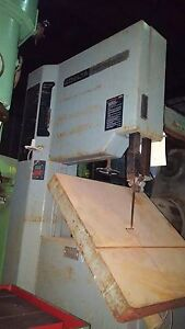 Delta Vertical Band Saw 20 In Var Speed Cuts Steel Al Wood 24 Sq Table