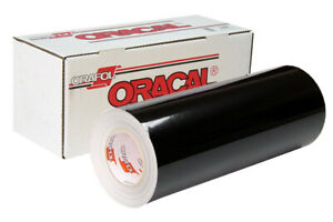oracal 751ra Cast W rapidair 18 Black 50 Yard Roll