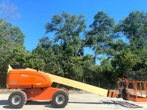 Factory Reconditioned Jlg Telescopic 600s Boom Lift 4wd Aerial Lift Jlg Manlift