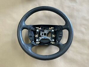 2003 2004 Ford Mustang Svt Cobra Leather Steering Wheel Black Oem