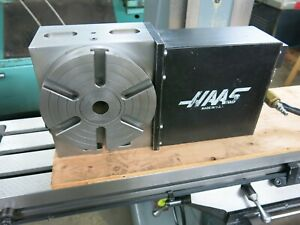 Small Haas 7 Cnc 4th Axis Milling Rotary Table