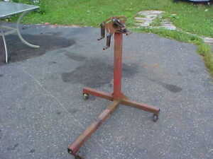 Engine Stand Made Of Heavy Duty Steel