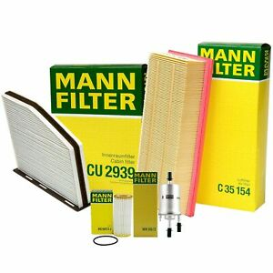 Mann Oil Air Paper Cabin Fuel Filter Service Kit For Vw Beetle 2 0 L4 Cpla Turbo