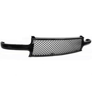 For 1999 2002 Chevy Silverado 2000 2006 Tahoe Suburban Front Grill Grille Black