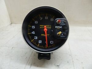 Auto Meter Pro Comp Ll 2 Tachometer 9 000 Rpm With Shift Light Memory
