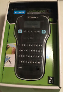 Dymo Labelmanager 160 Label Maker Black New