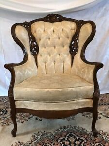 Wingback Upholstered Chair