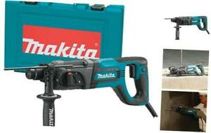 Makita Hr2475 1 Rotary Hammer Accepts Sds plus Bits d handle
