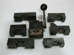 Jfk Quick Change Tool Post 7 Piece Set Kdk Style 0 Series Made In Usa 8 12