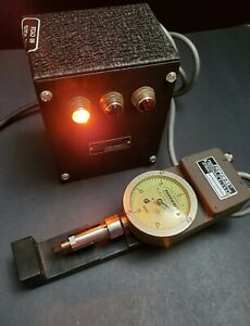 Federal Usa 0 0005 Electricator Dial Indicator Miracle Movement Machinist Mahr