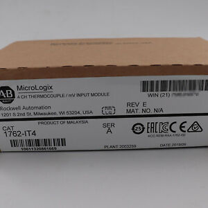 New Sealed Allen Bradley 1762 it4 Micrologix Expansion Thermocouple Input