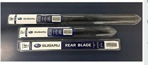 2015 19 Subaru Legacy Outback Frt Rear Windshield Wiper Blade Set Genuine